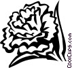 Vector Clipart graphic  of a carnation