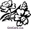 cherry blossom Vector Clip Art picture