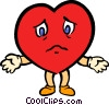 valentines day heart Vector Clip Art picture