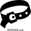 clothes belt Vector Clipart image