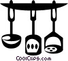 Vector Clipart picture  of a cooking utensils