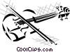 violin Vector Clipart illustration