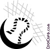 Vector Clip Art picture  of a baseball