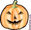 Jack o lantern Vector Clipart graphic