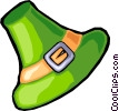 St. Patrick's day hat Vector Clipart picture