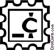 stamp Vector Clipart picture