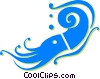 shrimp Vector Clip Art graphic
