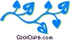 leaves Vector Clip Art picture