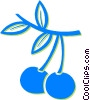 Vector Clipart illustration  of a cherries