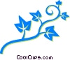 Vector Clip Art picture  of a leafy vine