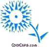 sun flower Vector Clip Art graphic