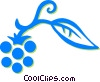 Vector Clip Art picture  of a raspberries