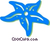 star fish Vector Clipart picture