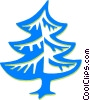 Vector Clip Art image  of a tree