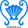 sea shell Vector Clipart picture