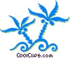 Vector Clip Art graphic  of a weeds