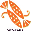 Vector Clip Art picture  of a fish