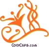 vines Vector Clipart illustration