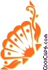 Vector Clip Art graphic  of a seashells