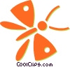 butterflies Vector Clip Art graphic