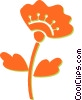 flower Vector Clipart illustration