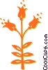 Vector Clip Art image  of a tulips