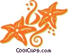 Vector Clipart illustration  of a star fish