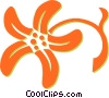 decorative floral design Vector Clipart picture
