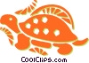 Vector Clipart picture  of a turtle
