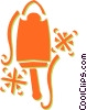 Vector Clip Art image  of a ice cream