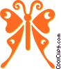 Vector Clipart picture  of a butterflies