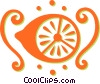 Vector Clip Art graphic  of a lemon