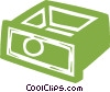 drawer Vector Clip Art picture