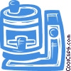 coffee pot/maker Vector Clipart graphic