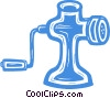 Vector Clipart picture  of a meat grinder