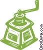 Vector Clipart illustration  of a coffee grinder