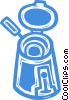 deep fryers Vector Clip Art picture