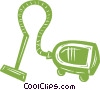 Vector Clipart graphic  of a vacuum cleaner