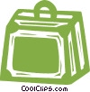 suitcase Vector Clipart picture