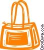 purse Vector Clip Art graphic
