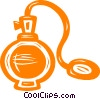 Vector Clipart illustration  of a perfume bottle
