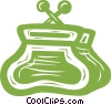 Vector Clip Art picture  of a purse