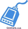 Vector Clipart illustration  of a test equipment