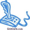 joystick Vector Clipart illustration