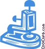 Vector Clip Art image  of a corporate stamp