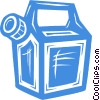 gasoline container Vector Clipart illustration