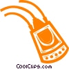 computer modem Vector Clipart graphic