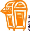 Vector Clipart graphic  of a mail box