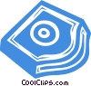 computer backup systems Vector Clip Art picture