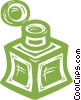Vector Clipart image  of a ink well